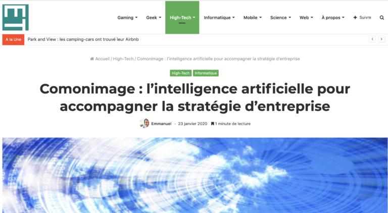 Echotechno.fr – L'intelligence artificielle pour accompagner la stratégie d'entreprise