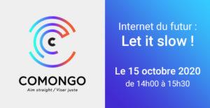 Disponible en replay : Conférence «Internet du Futur : let it slow !»