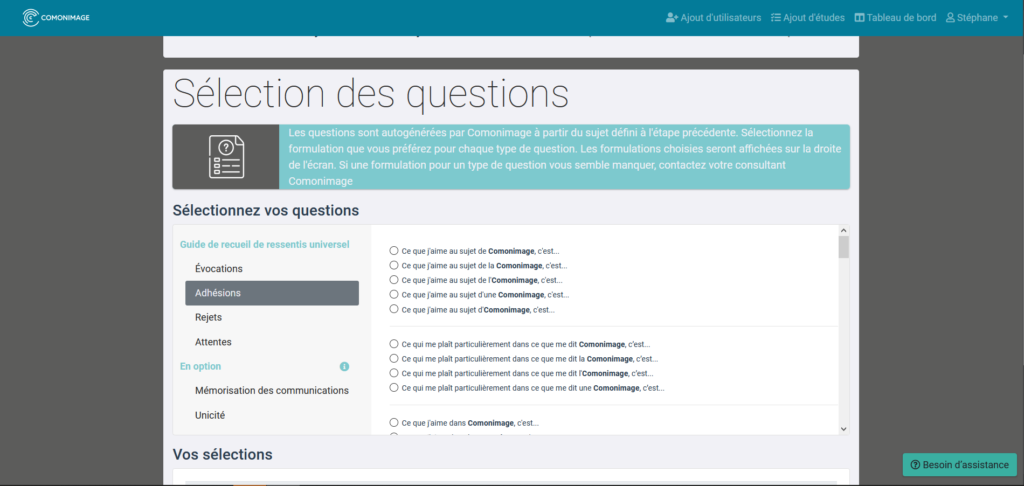 Questions - Module Gestion